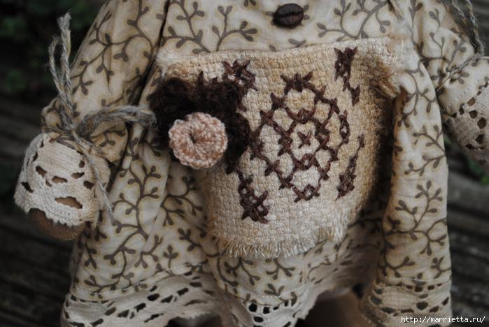 текстильные овцы, ежик, коза и медведи (21) (700x468, 285Kb)