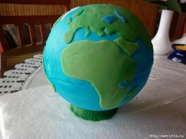 УЧЕНАЯ СОВА из марципана для детского торта. Фото мастер-класс (27) (640x480, 116Kb)