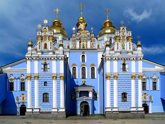 4. Михайловский Златоверхий монастырь 1 (700x525, 531Kb)