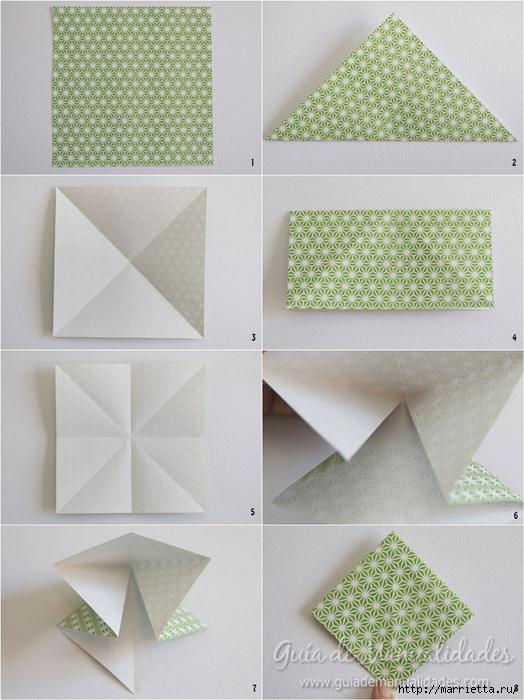 Как сложить красивый бант из бумаги в технике оригами (2) (524x700, 260Kb)