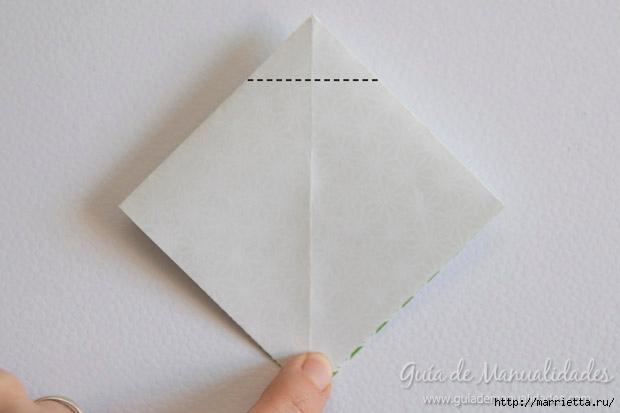 Как сложить красивый бант из бумаги в технике оригами (4) (620x413, 95Kb)