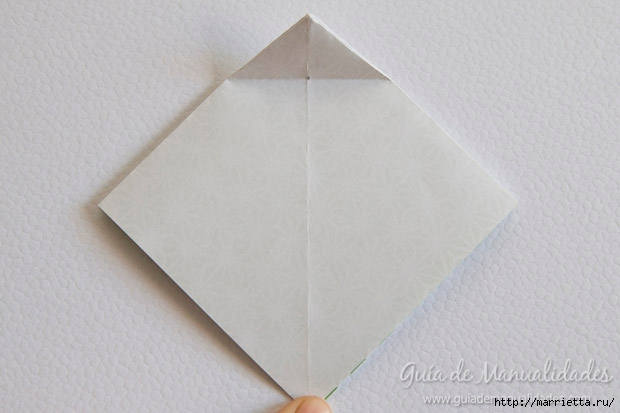 Как сложить красивый бант из бумаги в технике оригами (6) (620x413, 107Kb)
