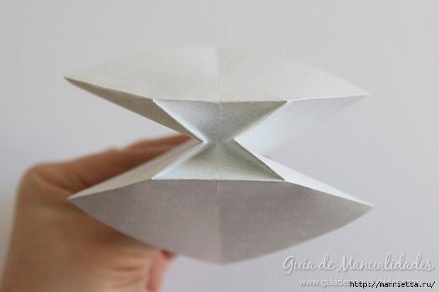 Как сложить красивый бант из бумаги в технике оригами (8) (620x413, 65Kb)