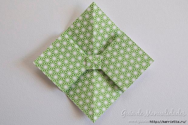 Как сложить красивый бант из бумаги в технике оригами (14) (620x413, 181Kb)