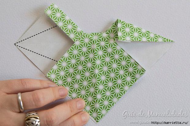 Как сложить красивый бант из бумаги в технике оригами (19) (620x413, 178Kb)