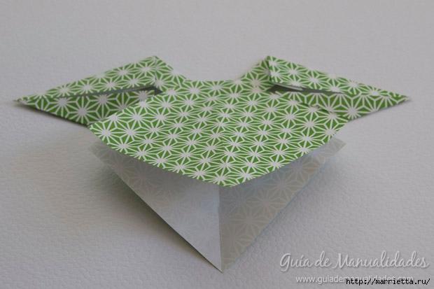 Как сложить красивый бант из бумаги в технике оригами (21) (620x413, 134Kb)