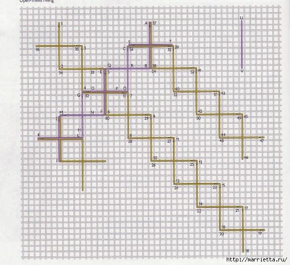 Мережка. Закладка для книжки (7) (573x524, 268Kb)
