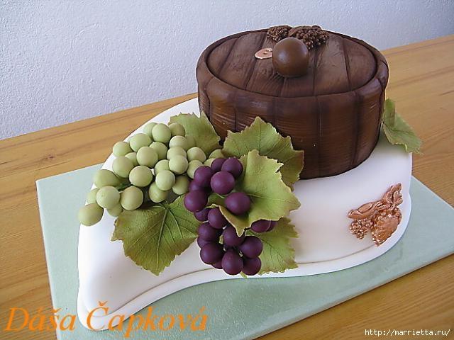 Осенние марципановые 3D торты. Идеи (2) (640x480, 156Kb)