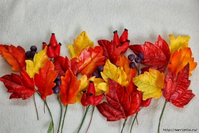 Осенние марципановые 3D торты. Идеи (14) (700x465, 246Kb)