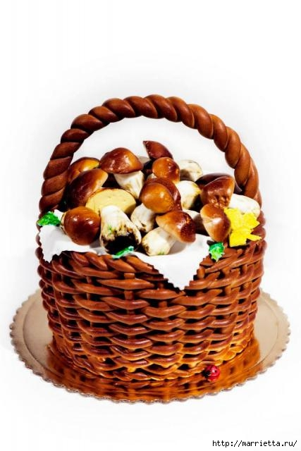Осенние марципановые 3D торты. Идеи (16) (427x640, 123Kb)