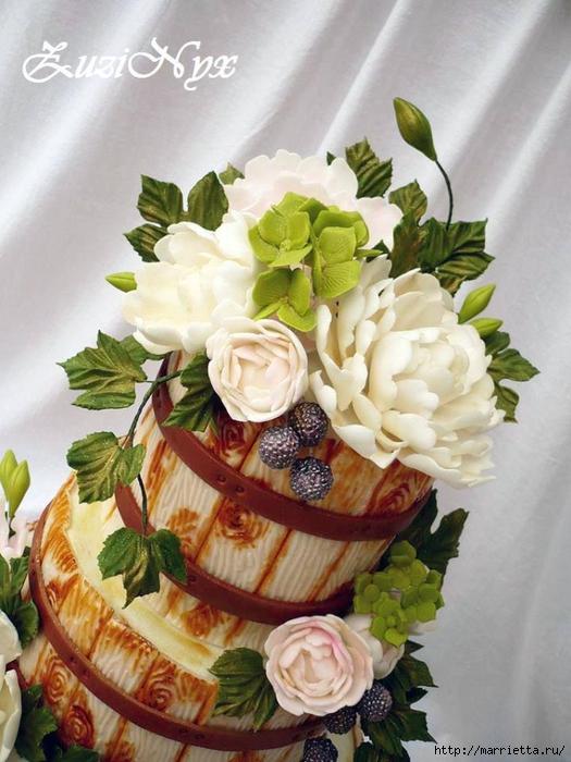 Осенние марципановые 3D торты. Идеи (17) (525x700, 269Kb)