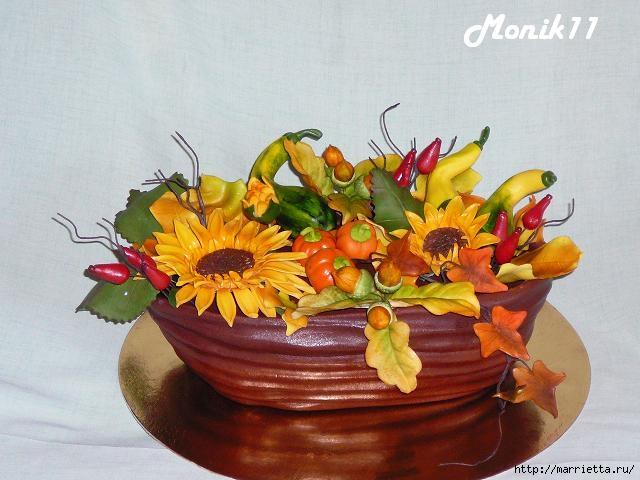 Осенние марципановые 3D торты. Идеи (42) (640x480, 159Kb)