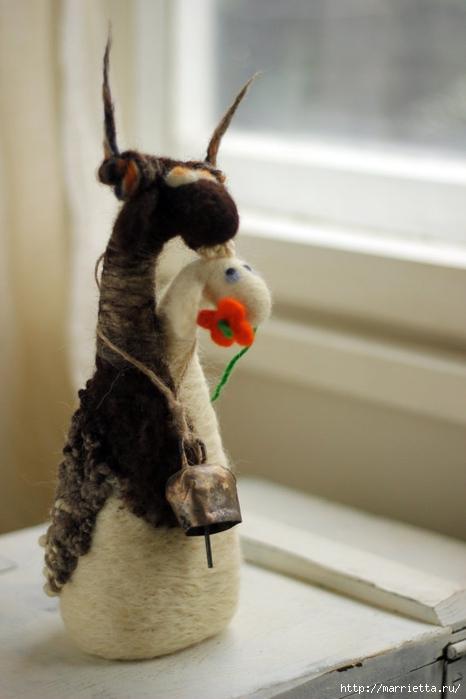 Романтичная овца и другие игрушки в технике валяние (6) (466x700, 170Kb)