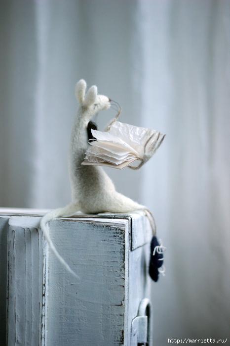 Романтичная овца и другие игрушки в технике валяние (22) (466x700, 174Kb)