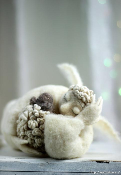 Романтичная овца и другие игрушки в технике валяние (43) (485x700, 167Kb)