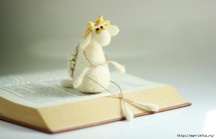 Романтичная овца и другие игрушки в технике валяние (47) (700x449, 156Kb)