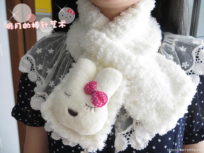 детский шарф спицами с игрушкой (4) (700x524, 279Kb)