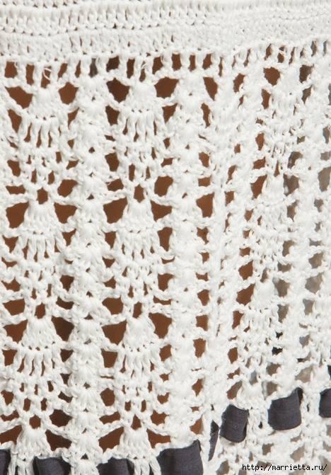 длинная вязаная юбка (5) (468x671, 197Kb)