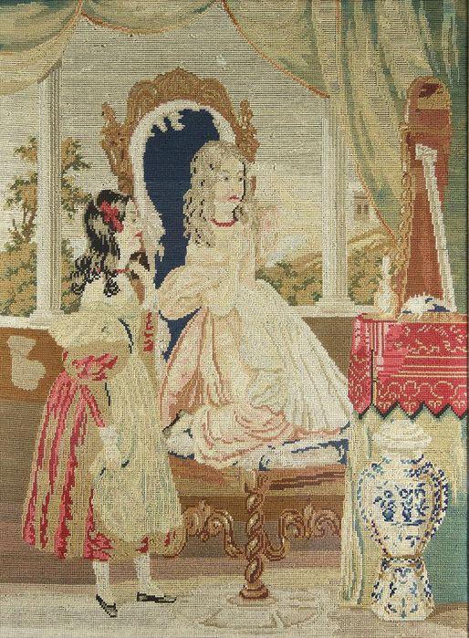 что в XIX веке дамам