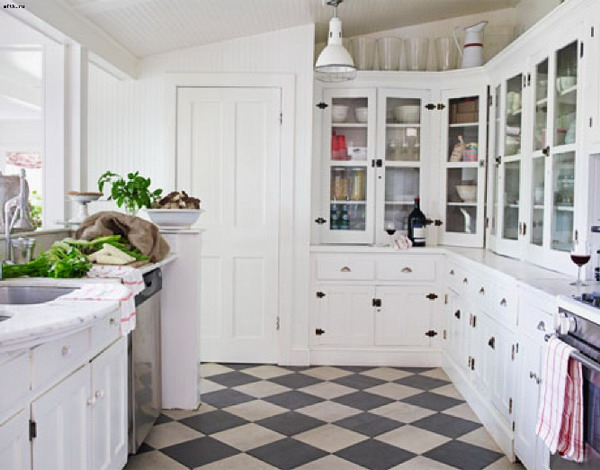 black-white-checkerboard-floors-tiles-in-kitchen1-2 (600x470, 181Kb)