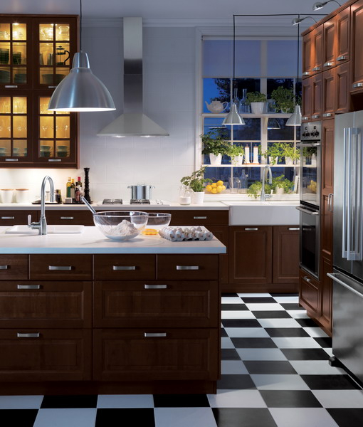 black-white-checkerboard-floors-tiles-in-kitchen4-2 (510x600, 227Kb)