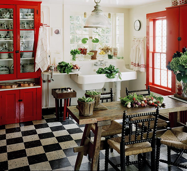 black-white-checkerboard-floors-tiles-in-kitchen6-4 (600x550, 364Kb)