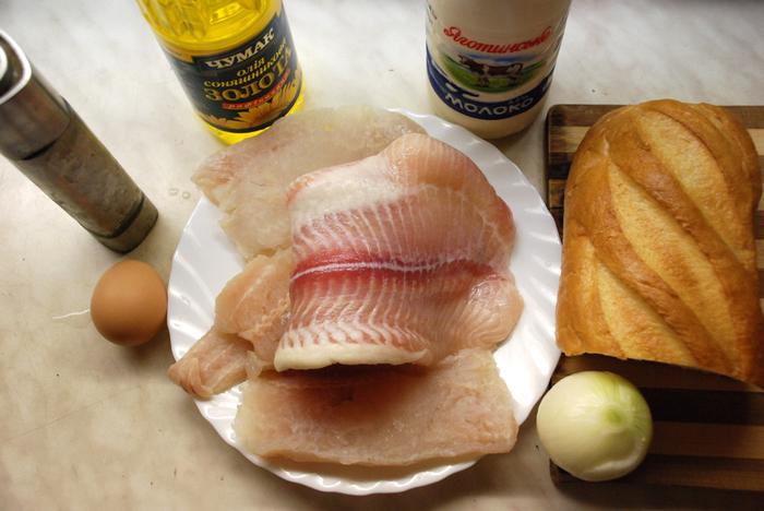 рыбные котлеты из фарша хека рецепт с фото