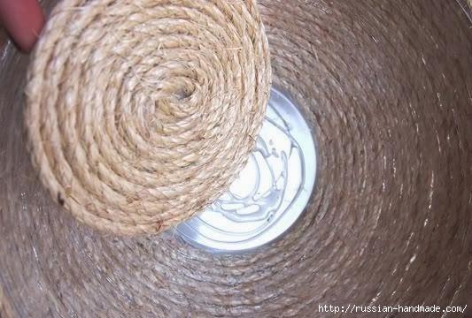 декорирование вазы шпагатом (4) (533x360, 114Kb)
