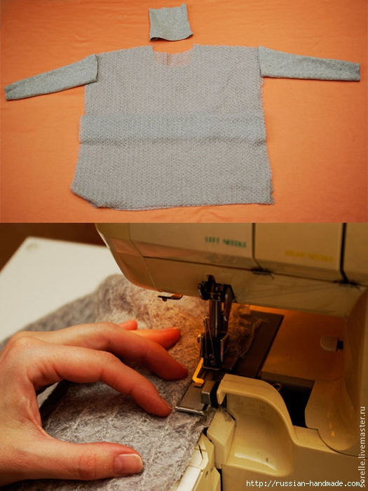 Модная переделка старого свитера (3) (525x700, 245Kb)