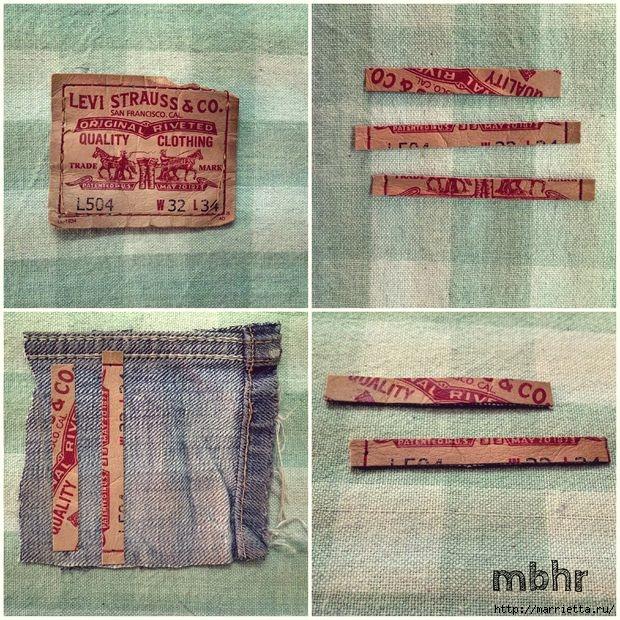 Ремешок для наручных часов из старых джинсов. Мастер-класс (22) (620x620, 347Kb)
