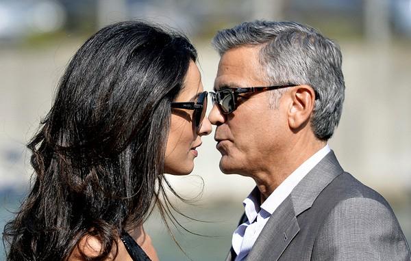 Джордж Клуни сыграл свадьбу в Венеции (600x382, 232Kb)