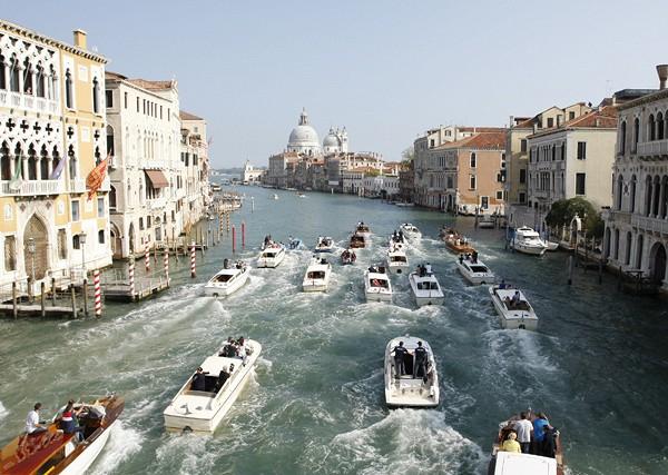 Джордж Клуни сыграл свадьбу в Венеции1 (600x427, 274Kb)