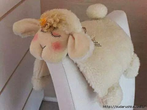 Игрушки-подушка из меха своими руками
