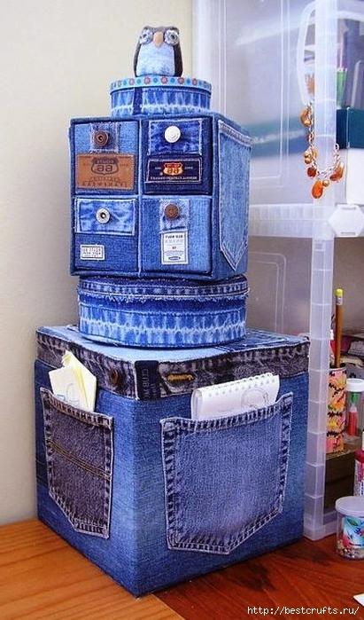 Разные переделки из джинсов (6) (411x700, 252Kb)