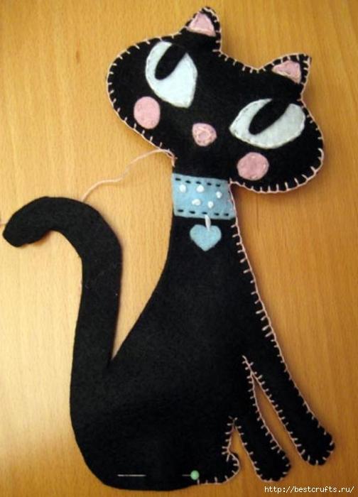 Шьем очаровательных кошек по выкройке (10) (504x700, 199Kb)