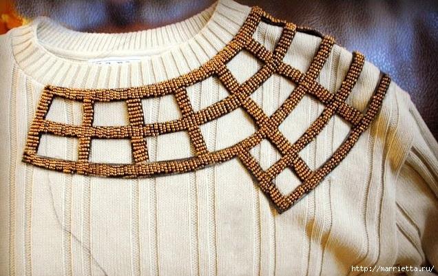 Стильная идея переделки пуловера (3) (636x401, 245Kb)