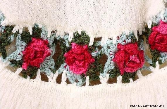 Изумительные жакеты с розами (9) (571x375, 177Kb)