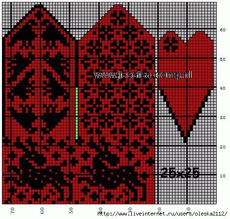 варежки с оленем1 (468x447, 232Kb)