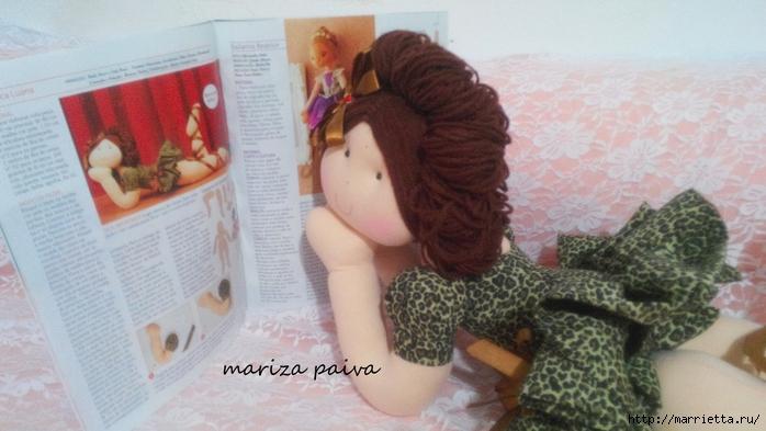 Красивая прическа с кудряшками для куклы. Мастер-класс (22) (700x393, 206Kb)
