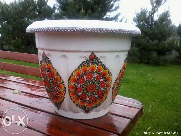 Варианты декорирования цветочных горшков (13) (615x461, 139Kb)