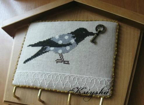 Ворона ключница отшив инета