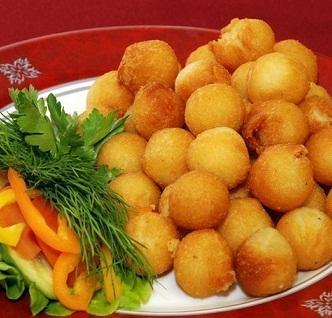 рецепт картофельных шариков на гарнир