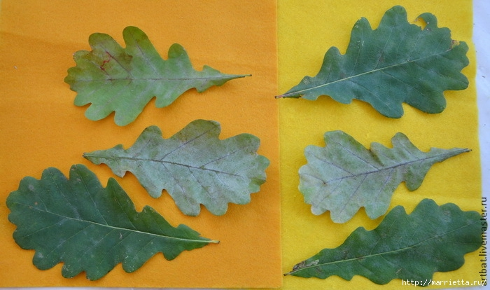 Осенний венок из фетровых листьев. Мастер-класс (2) (700x414, 193Kb)