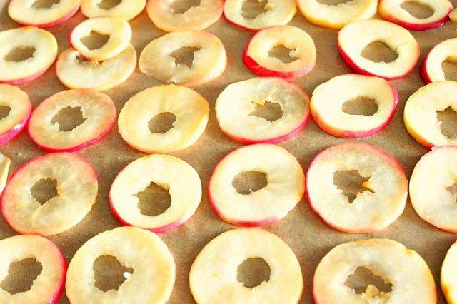 качественная недорогая яблочные чипсы в духовке рецепт с фото хранить