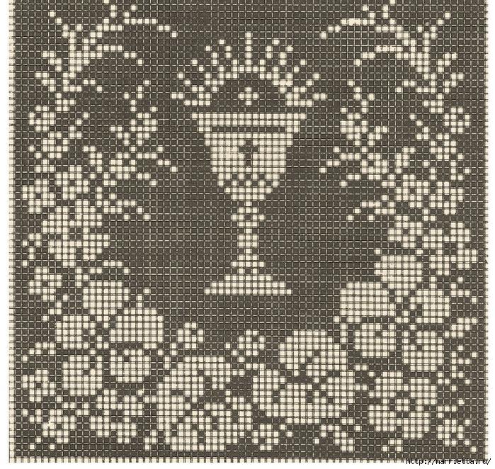 Винтажная вышивка. Схемы и идеи для вдохновения (85) (700x662, 571Kb)