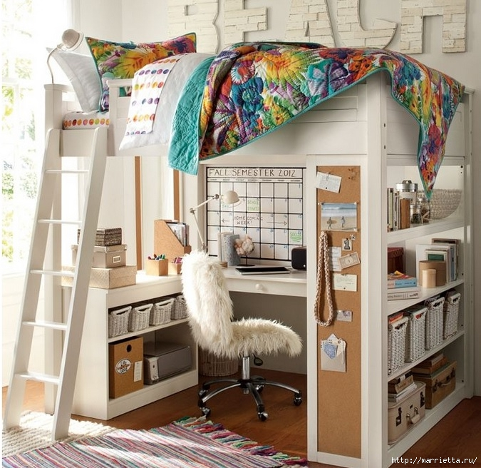 Дизайн интерьера. Детская комната (97) (675x656, 305Kb)