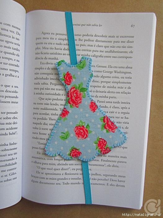 Как сделать оригинальную закладку для книги