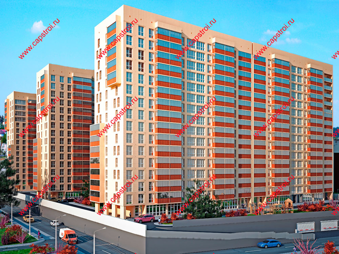 Новые квартиры в Краснодаре от застройщика Капитал-Инвест (2) (700x525, 635Kb)