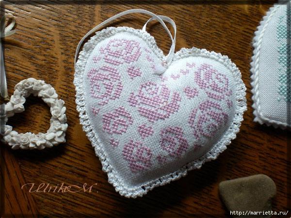 Схемы вышивки крестом для валентинок (6) (600x449, 226Kb)