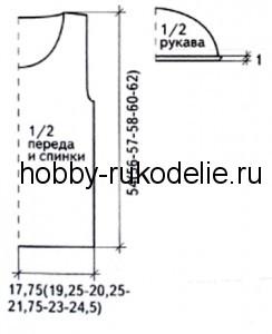 pulover-s-korotkimi-rukavami-vyazanie-spicami2-244x300 (244x300, 14Kb)